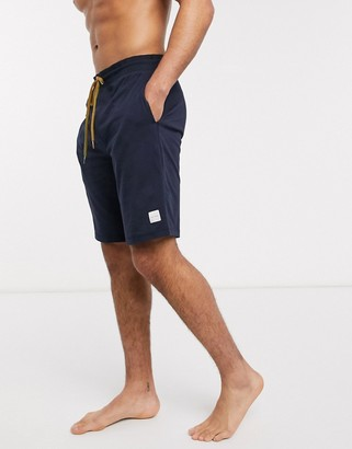 Paul Smith jersey lounge shorts in navy