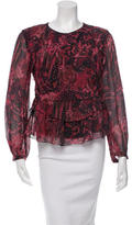 IRO Silk Printed Blouse w/ Tags