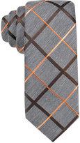 Alfani Men's Orange Skinny Tie, Only at Macy's