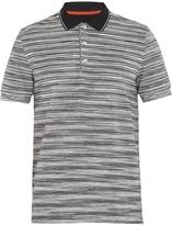 Missoni Striped cotton-piqué polo shirt