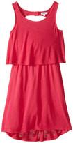Splendid Littles A Line Dress with Button Detail (Big Kids)