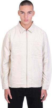 Stussy Shirt In Beige Polyester