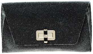 Diane von Furstenberg Grey Glass Beads 440 Gallery Uptown Clutch