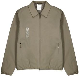 Wood Wood Clive stone cotton-blend jacket