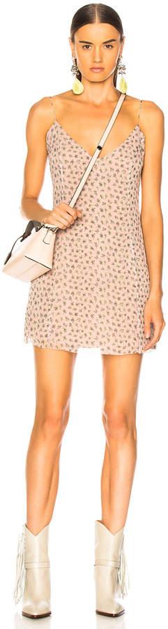 Amiri Floral Print Slip Dress in Pink | FWRD