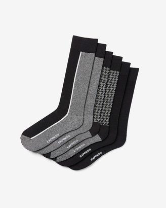 Express 3 Pack Striped Dress Socks