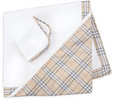 Burberry Hooded Towel and Washcloth Set