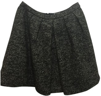 NW3 by Hobbs Hobbs Hobbs Black Tweed Skirt for Women