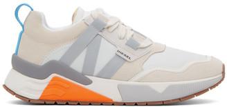 Diesel White B-Brentha WL Sneakers
