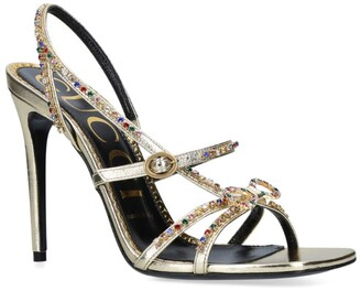 Gucci Embellished Carmen Sandals 105