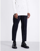 Damir Doma Cropped Corduroy Cotton-blend Trousers
