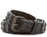 Diesel Bative Leather Studded Belt