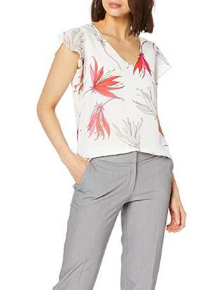 S'Oliver BLACK LABEL Women's 11.903.32.3885 T-Shirt,8 (Size:)