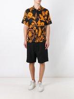 Ami Alexandre Mattiussi large Bermuda shorts - men - Virgin Wool - 34