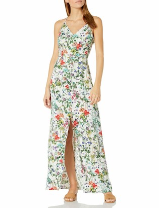 Greylin Women's Cameron Floral Slit Maxi Dress