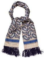 Louis Vuitton Silk Tuxedo Scarf