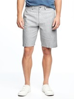 "Old Navy Slim Linen-Blend Shorts for Men (10"")"