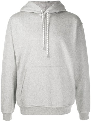 Closed Solid-Color Hoodie