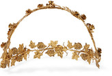 Jennifer Behr Rosalie Gold-plated Headband - one size