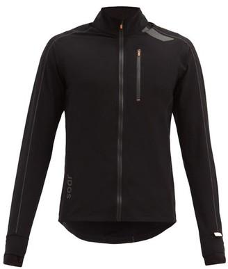 Soar - All Weather 2.0 Zipped Running Jacket - Black