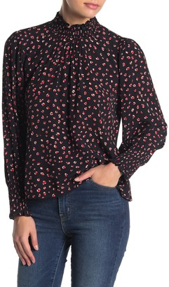 Sanctuary Carrie Smocked Blouse (Petite)