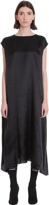 Vetements Dress In Black Viscose