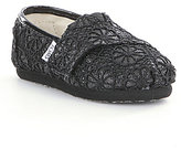 Toms Tiny Alpargata Girls' Casual Slip-Ons