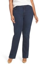 NYDJ Plus Size Women's 'Marilyn' Stretch Straight Leg Jeans