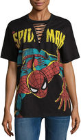 Freeze Spiderman Graphic T-Shirt- Juniors