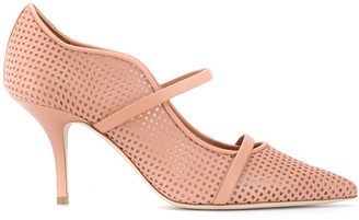 Malone Souliers Maureen 70mm perforated pumps