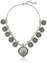 Lucky Brand Silver-Tone Bali Lucky Layer Necklace