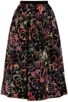 Emporio Armani Jacquard Full Skirt