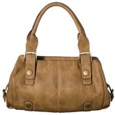 NYC by Perlina Distressed Shopper with Antique Hardware - Tan