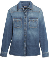 Tom Ford Stretch-denim Shirt - Mid denim