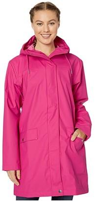Helly Hansen Moss Raincoat (Dragon Fruit) Women's Coat