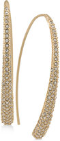 Lauren Ralph Lauren Gold-Tone Pavé Threader Earrings