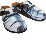 Birkenstock Boston Birko-Flor Narrow Fit Sandals Star Wars Stormtrooper Big Head Black