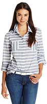Splendid Women's Capri Novelty Stripe Pocket Shirt