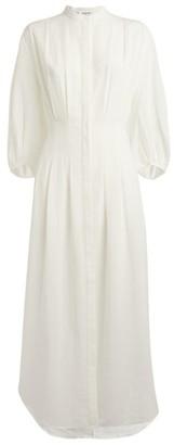 Frame Voluminous Sleeve Dress