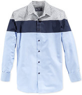 American Rag Men's Colorblocked Long-Sleeve Shirt, Only at Macy's