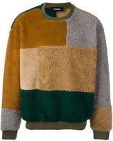 Diesel patchwork jumper