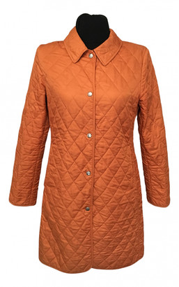 Burberry Orange Polyester Jackets