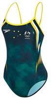 Speedo Women's Endurance10 Team Replica Trickback Swimsuit