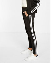 Express contrast athletic stripe jogger pant