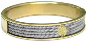 Charriol Cable Two-Tone Bangle Bracelet in Stainless Steel & Gold-Tone Pvd Stainless Steel