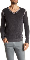 Autumn Cashmere Inked V-Neck Cashmere Sweater