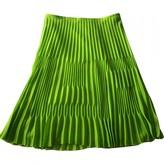 Gianni Versace Green Skirt for Women