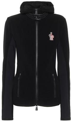 MONCLER GRENOBLE Fleece ski jacket