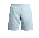 Faherty Malibu linen and cotton-blend shorts
