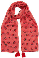 Oasis Cherry Print Scarf